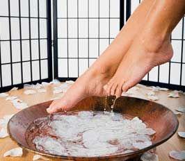 Ванночка для ступней ног