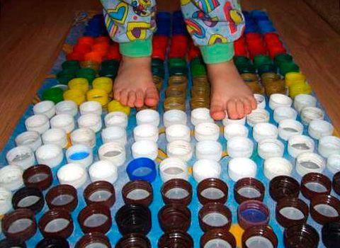 Коврики от плоскостопия у детей своими руками