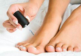 Как увидеть грибок ногтей на ногах